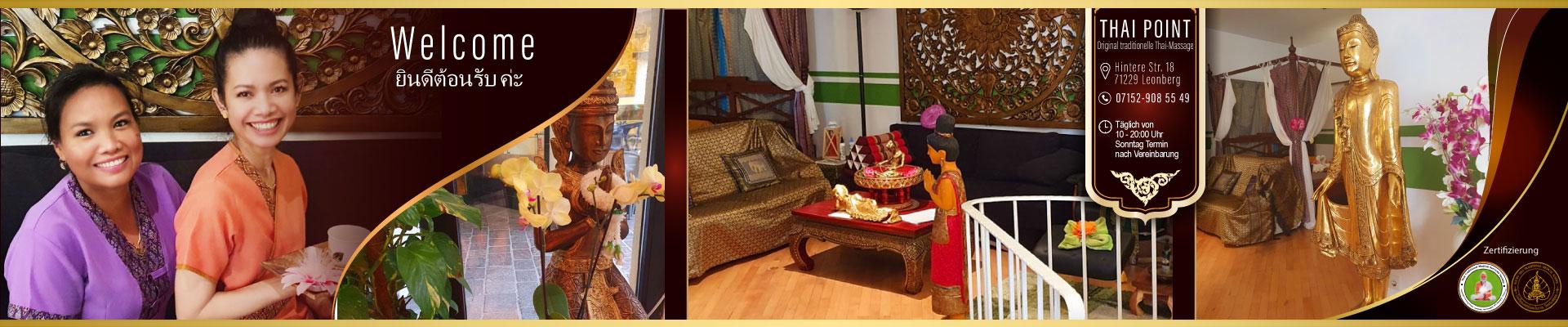 Thai-Point-Massage traditionelle Thai-Massage Praxis Leonberg